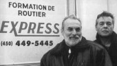 TRAINED TRAINERS: Gilles D'Amour and Andre Millier of the Centre de Formation de Routiers Express