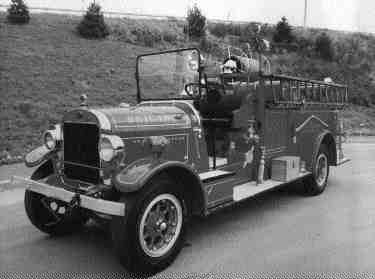 1927 Sanford pumper