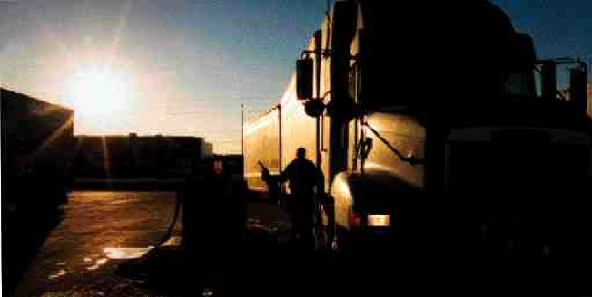 DARKEST BEFORE THE DAWN: Truckers can take heart that high diesel prices should drop. (Photo by John G. Smith)