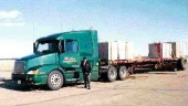 TRAINING WHEELS: Outriggers ensure the truck doesn't flip. (Supplied photo)