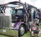 BEST PRE-2000 COMPANY- OWNED WORKING TRUCK : Billy Baker of Baker Trucking.