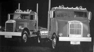 Two different 1942 Freightliners