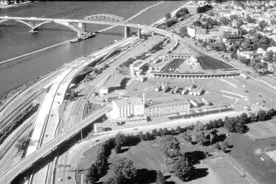 GATEWAY: Buffalo's side of bridge.