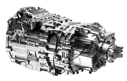 NEW FREEDOM: ZF Meritor's new transmission sports includes a twin countershaft with full helical gearing for reducing noise.