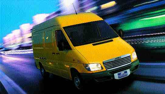TRACK STAR: The Sprinter delivers V-8 performance and diesel economy.