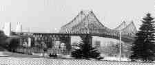 HISTORIC: Jacques Cartier Bridge.