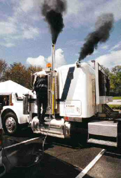 RAISING THE BAR: This is the first emissions testing to take place on the East Coast thus far. According to officials there will be more.File photo