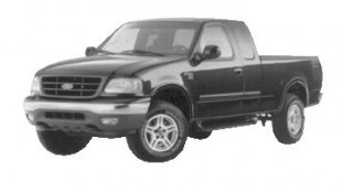 FUEL-MISER: Ford's F150 (above) boasts excellent fuel mileage, but so does Dodge and GMC. Photo by Ford