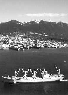 WEST COAST: The Port of Vancouver's 2002 results showed an increase in container traffic.