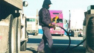 LIQUID GOLD: Pulling into a fuel station these days is going to cost you. Many O/O's are stuck footing the entire bill.