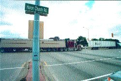CONTROVERSY: Huron Church Rd. has been the topic of much discussion over the past few months.