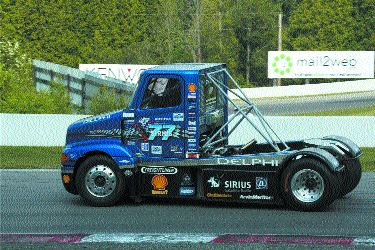 FIRST TO THE FINISH LINE: Mosport will be one of three courses for the TONKA 2003 Super Truck Celebrity Challenge.