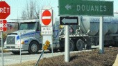 CONVENIENT: The Lacolle border crossing offers FAST sign up to truckers.