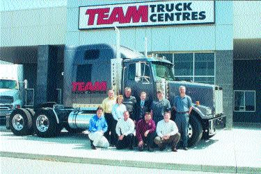 TEAM SPIRIT: Team Truck Centres opens its new location. Photo by Katy de Vries