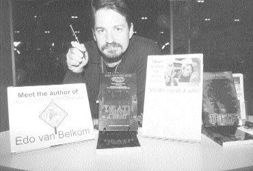 AWARD WINNER?: Edo van Belkom, author of Mark Dalton, Owner/operator, is up for two prestigious awards.