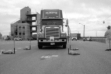 TOUGH COMPETITION: The AMTA's truck driving championships were recently held in Calgary.