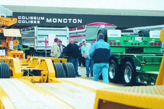IT'S SHOW TIME: The Atlantic Truck Show, held in Moncton N.B., hauled in over 10,000 people and an extra arena was added this year. Photo by Katy de Vries