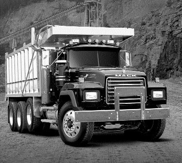 SHINY AND NEW: Mack Trucks marks the last R series models with the Legend.