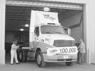CELEBRATE: Sterling Truck Corporation rolled out its 100,000th truck in St. Thomas, Ont.