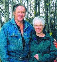 A HAPPY COUPLE: Edwin and Penny Kary were very much in love, say friends. They will be sorely missed by all who knew them.