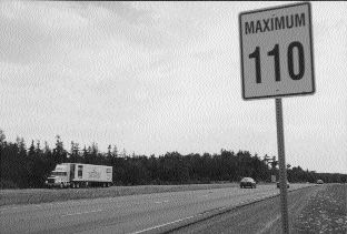 NOT SO FAST: The BCTA is opposed to increasing speed limits.