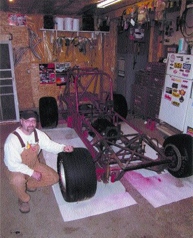 WORK IN PROGRESS: Don Darling is building a 1929 Legend car in an attempt to raise $100,000 for CHEO in Ottawa, Ont.