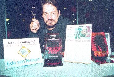 AUTHOR! AUTHOR!: Edo van Belkom will greet fans at the Truck News booth at Truck World.