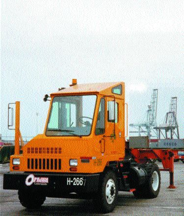 TOUGH TRUCKS: Ottawa Truck's port yard truck is one of the trucks they have been manufacturing since 1958.