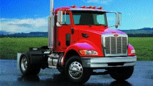 NEW MODEL: Peterbilt starts production of new medium-duty 335 in May.
