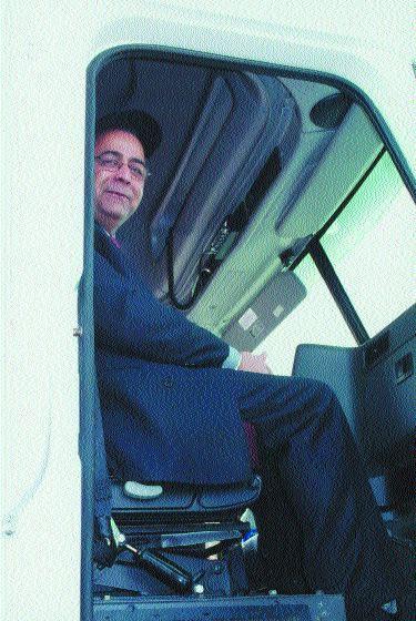 AVOID MY BLIND SPOTS: Ontario Transportation MInister Harinder Takhar.