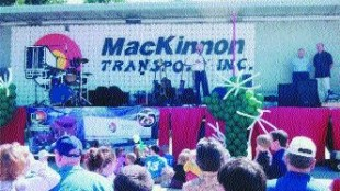 FAMILY FUN: MacKinnon Transport celebrated 75 years with employees and their families May 29.