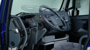 SITTING PRETTY: A driver's seat is one of the most important things to consider when spec'ing a new cab because it needs to fit the driver's preferences.
