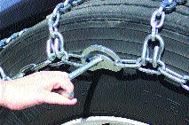 GET A GRIP: New chains are revolutionary, say Kinedyne officials.