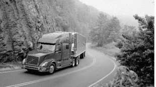 DRIVING FORCE: Volvo is just one of the truck manufacturers that carries Cummins diesel engines as an option.