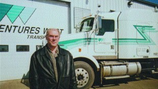 BRIGHT FUTURE: Glenn Bauer, owner of Ventures West, says diversity is key for his fleet.Photo by James Menzies
