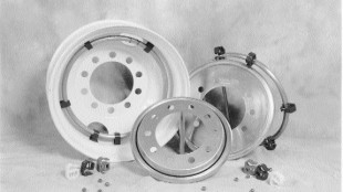BALL BEARINGS: TAABS' system, pictured, consists of a hoop in which ball bearings continuously rotate ironing out deficiencies in a vehicle's balance.