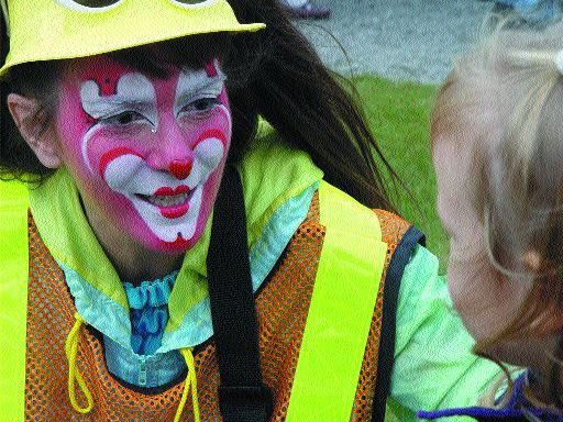 SMILE: The festival was a family affair with entertainment for one and all.