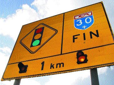 GETTING CLOSER TO COMPLETION: The Quebec provincial government says Route A30 will finally be finished but not until 2009.