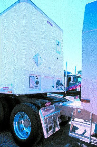 KEEPING TRACK OF YOUR CARGO: Cancom Tracking's wireless communication systems give added comfort of knowing where your trucks and trailers are.