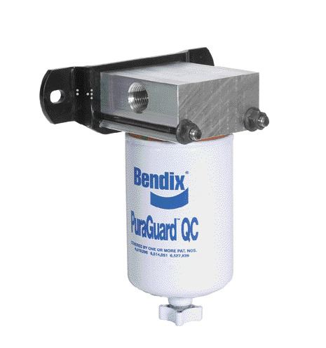 CLEANER: Bendix says its PuraGuard QC removes contaminants from the air supply.