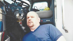 Keith Fullerton and pal, Pepper