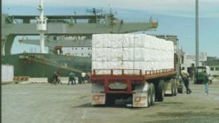 FUTURE GAIN: Canada's deep sea ports mean future gains for trucking.