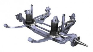 LIGHTER WEIGHT: Dana's FrontRunner suspension is about 75 lbs lighter than comparable traditional suspension systems.