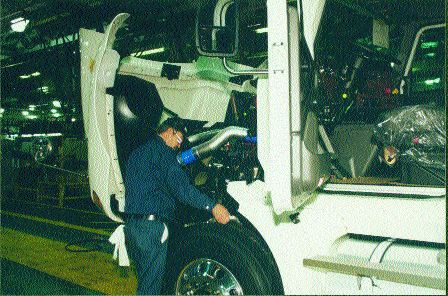 WORK IN PROGRESS: Trucks with 2007 engines have yet to reach full-scale production, but fleets are already voicing concerns despite rigorous testing.