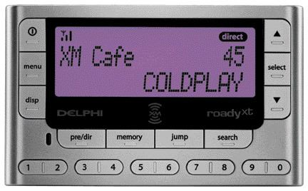 ON THE AIR: XM Radio is now available in Canada. This Delphi Roady is one of many satellite radios now available to carry XM programming.
