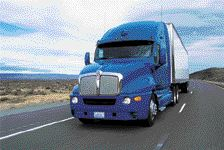 NEW OPTIONS: Kenworth T2000s like this one can now be spec'd with Eaton's VORAD system.