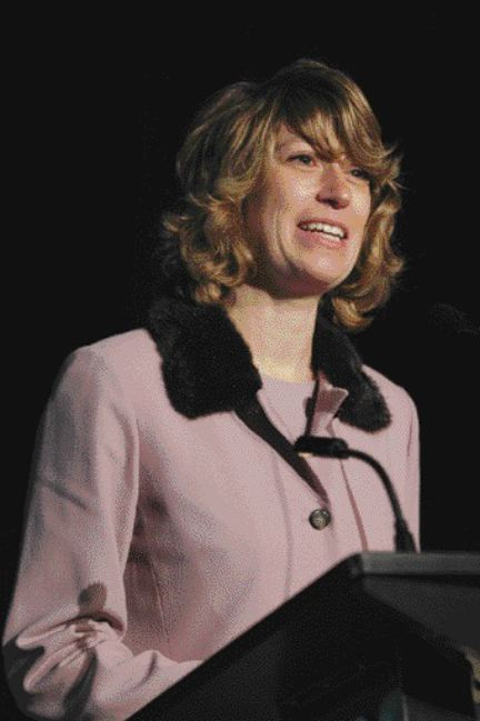 GOOD NEWS: Environment Minister Laurel Broten made a surprise announcement that could save the trucking industry a lot of dough.