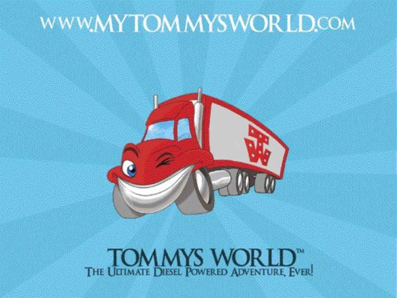 """TRUCKING 'TOONS FOR TOTS: Tommys World Entertainment is looking jump-start the children's entertainment market with storybooks, stuffed toys, an interactive Web site and a """"Disney-like"""" animated DVD series - all dedicated to trucking."""