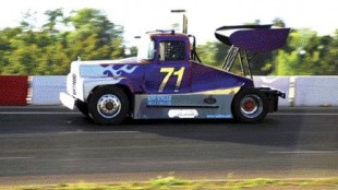 POLE POSITION: Defending champ Kevin McMeckan, driver of this #71 Mack will be the guy everyone else in the series shoots for next season.