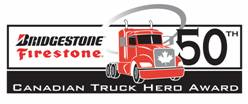 New and improved logo for the 50th Anniversary of the Truck Hero Award